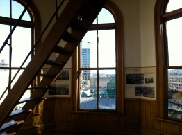 View from the cupola of the Pioneer Courthouse