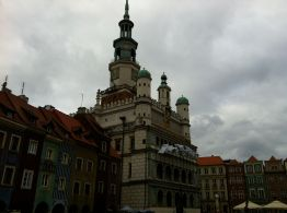 The town hall of Poznan