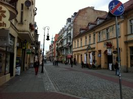 The old town of Poznan