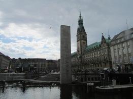 View from the Alsterarkaden