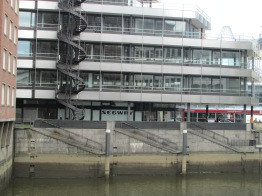 Stairs and steps in Hamburg