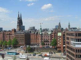 A view of Hamburg
