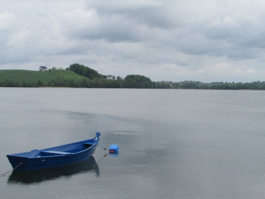 A lake in the Kashubian country.