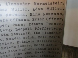 The names, including Leopold Pfefferberg, who made the film happen