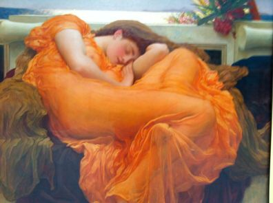 Flaming June at the Museo de Arte de Ponce