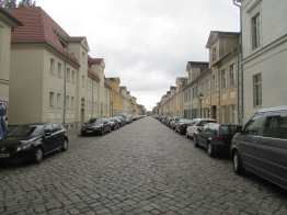 18th century side street, Potsdam